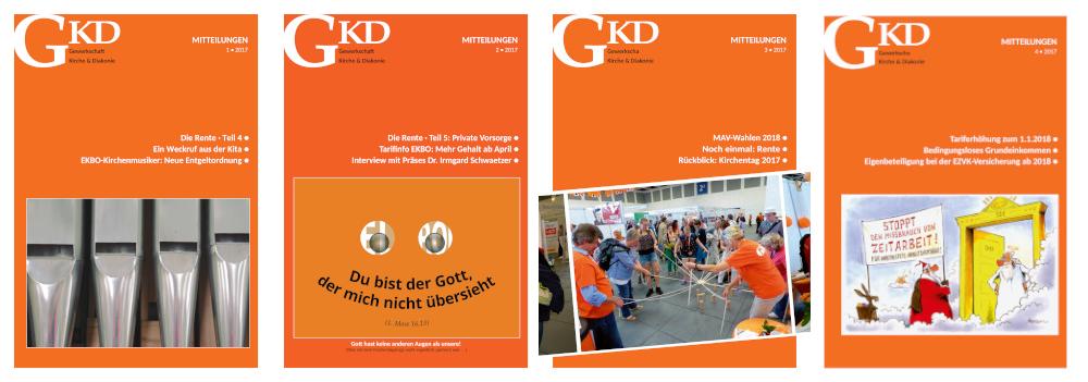 GKD-Mitteilungen Jahrgang 2017
