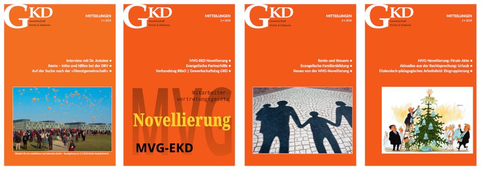 GKD-Mitteilungen Jahrgang 2018