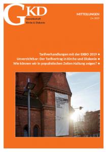 GKD Mitteilungen 2019/02