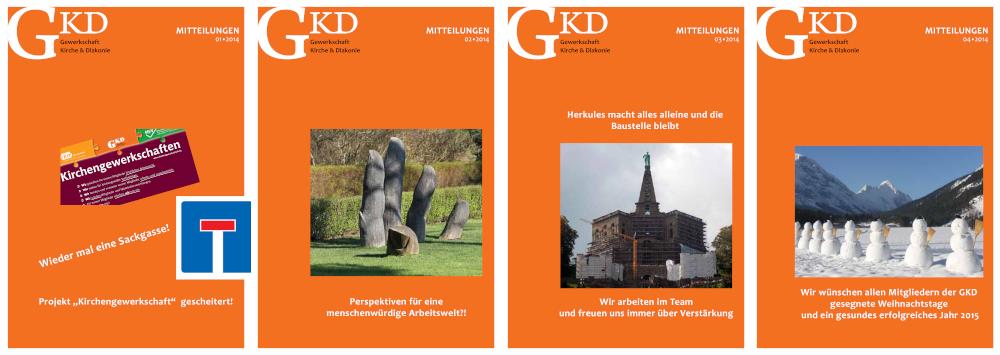 GKD-Mitteilungen Jahrgang 2015