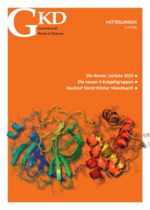Titelseite GKD-Mitteilungen Heft 1/2020