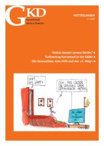Titelseite GKD-Mitteilungen 2020/3