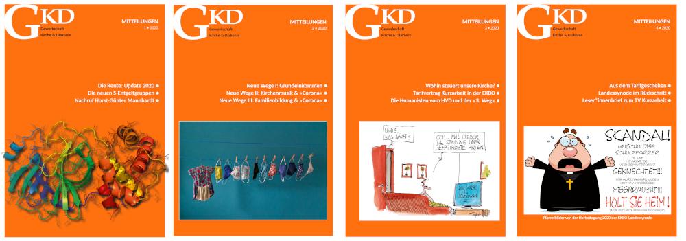 Titelbilder GKD-Mitteilungen 2020